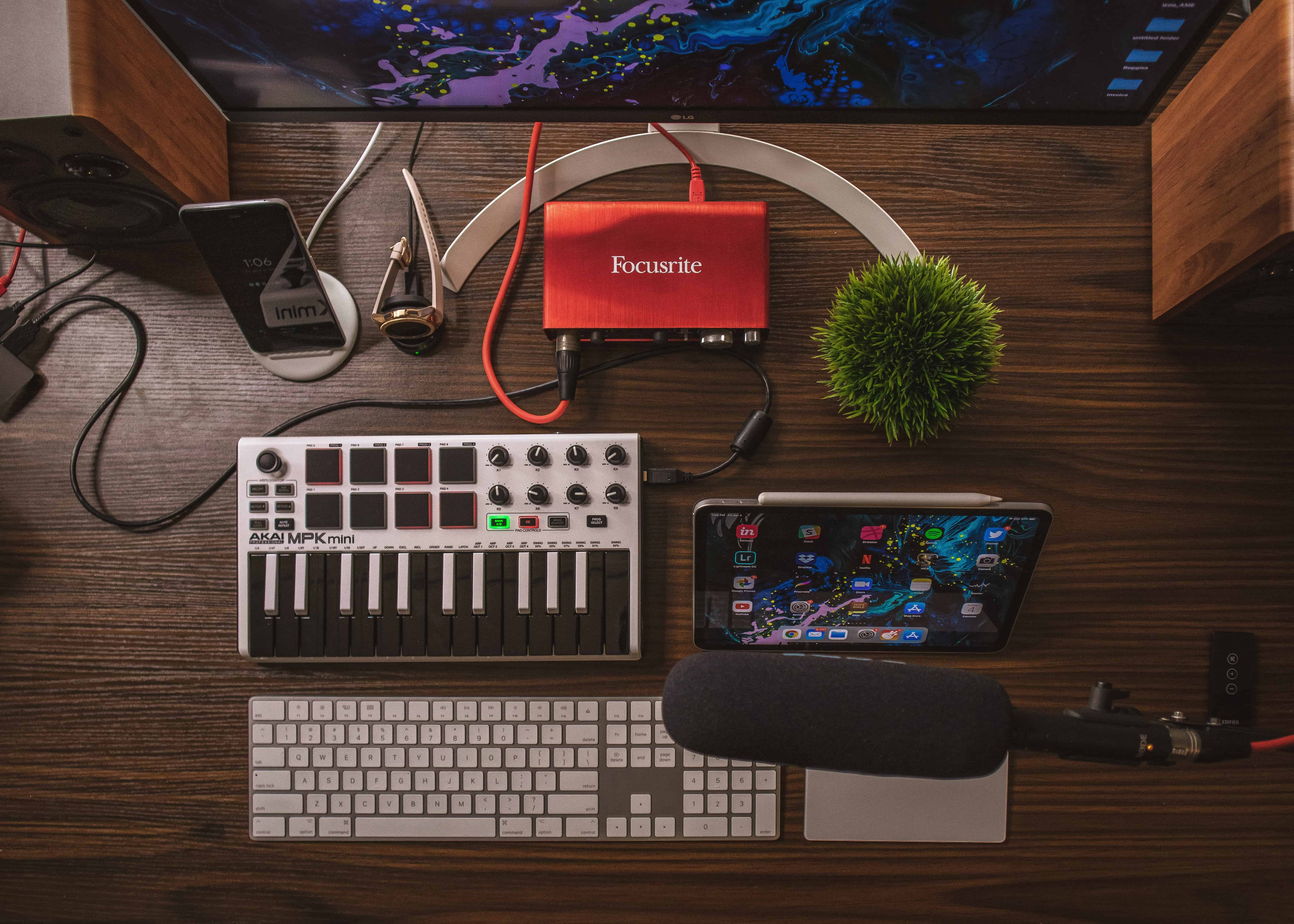the best way to record music at home