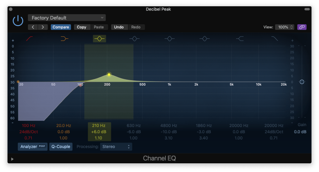 how to eq a snare drum