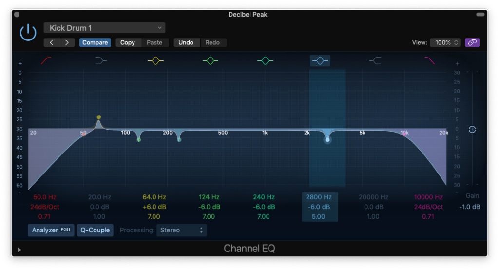 how to eq a kick drum