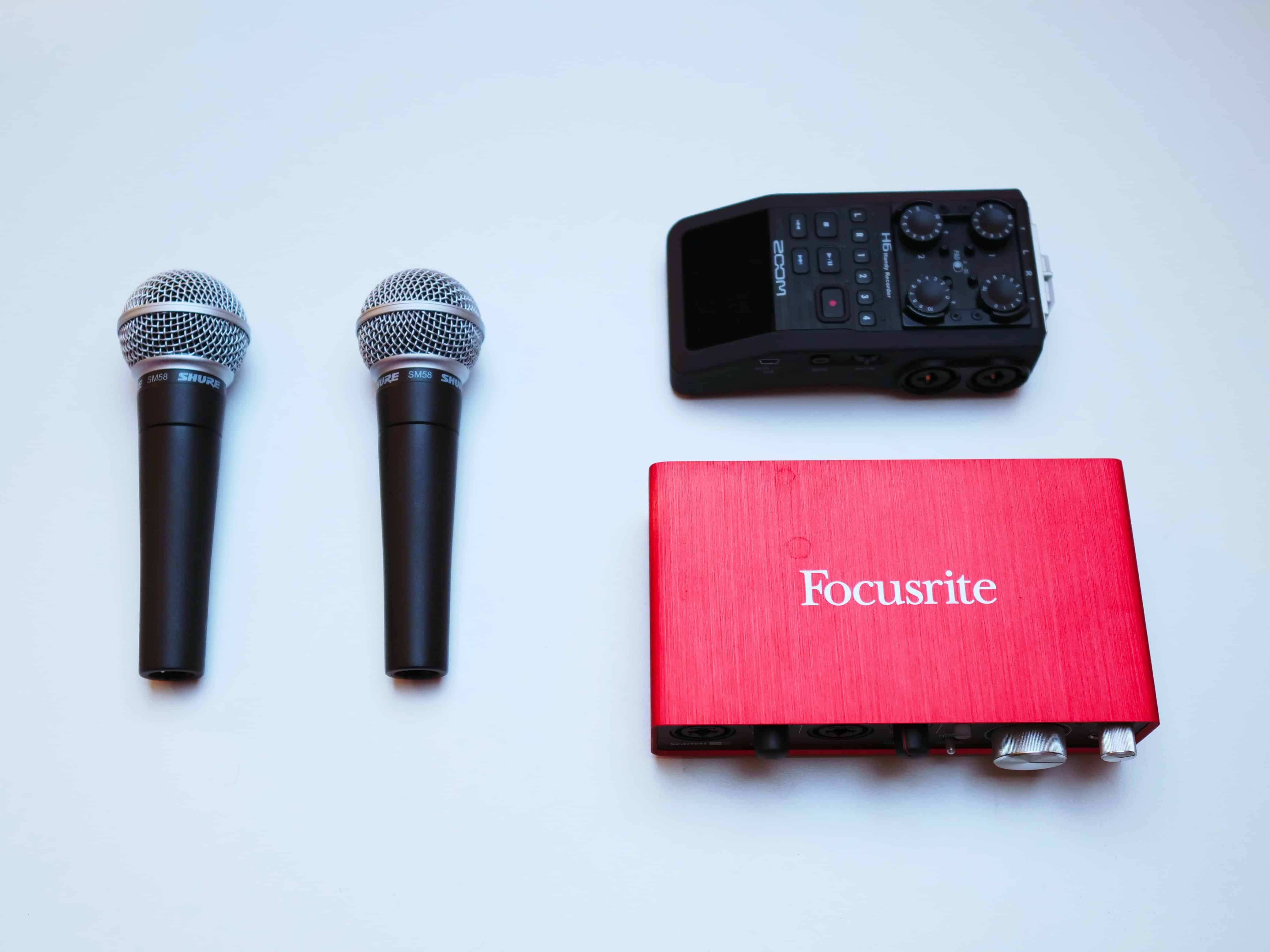 the best way to record vocals at home