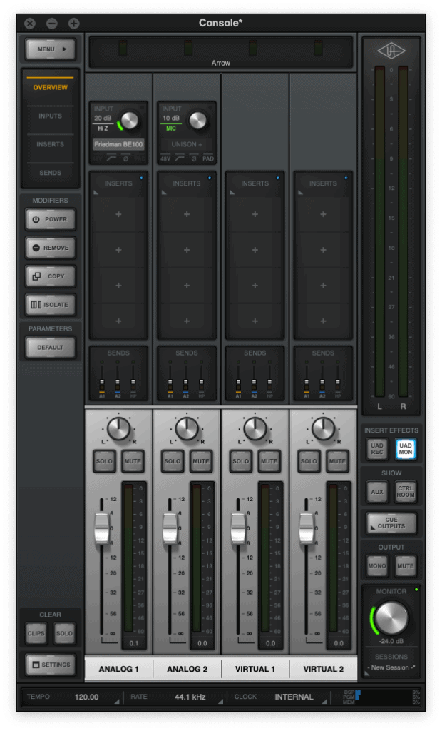 how to reduce audio latency - console 2.0 by universal audio