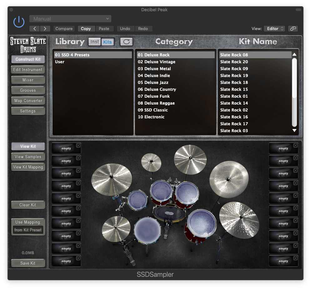 best way to record drums at home - steven slate drums 4 sample library