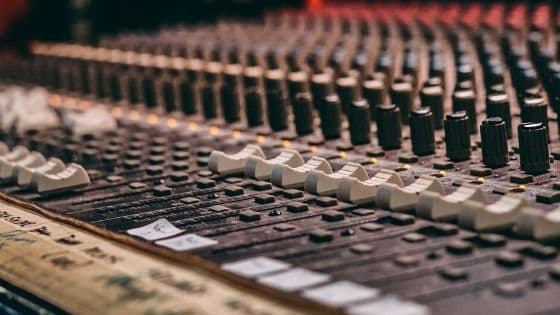 best online mixing and mastering services - mixing console