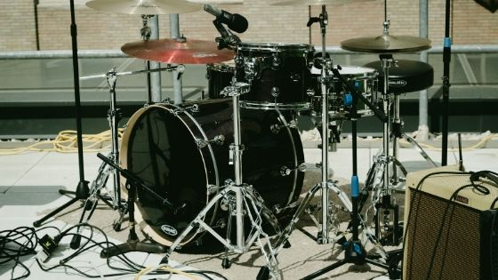 best way to record drums at home - microphone placement for acoustic drum kit