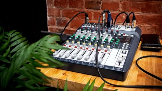best way to record drums at home - mixing console for recording