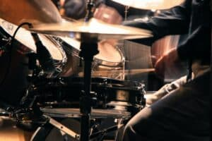 how to record drums with 4 microphones