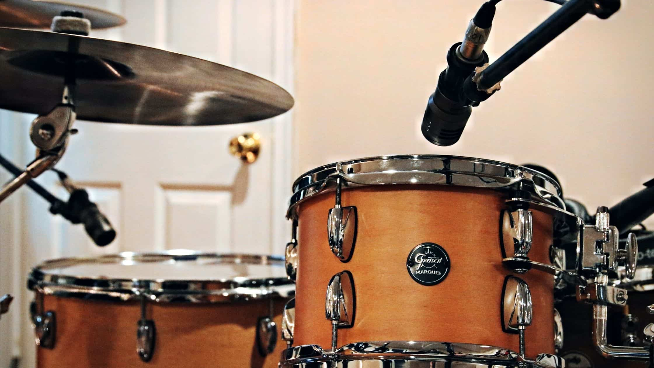 how to record drums with 2 microphones