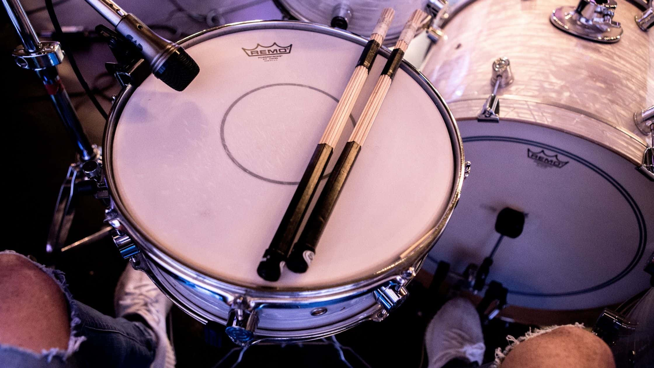 how to record drums with one microphone