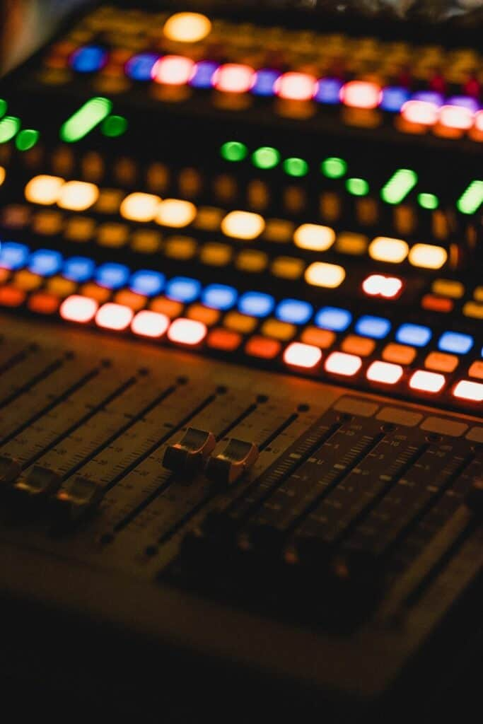 what's the difference between mixing and mastering - mixing console 2