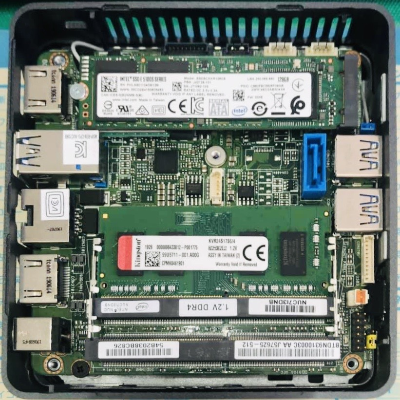 best mini pc for music production - intel nuc motherboard