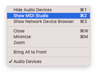 how to control logic pro with android - show midi studio