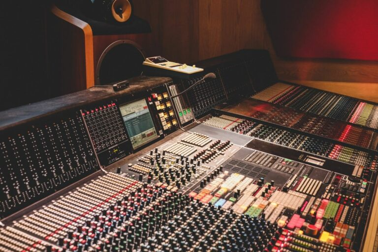 online music production services - decibel peak