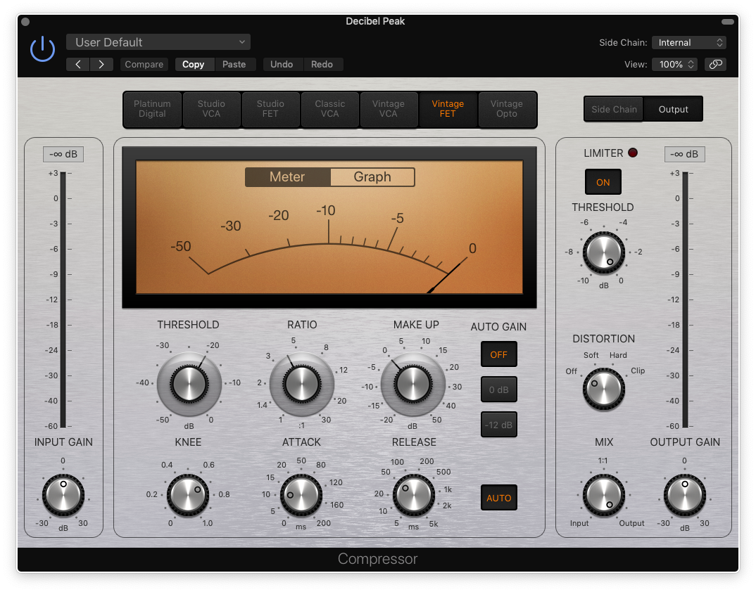 how to mix bass guitar in logic pro x - compressor settings for bass guitar 1